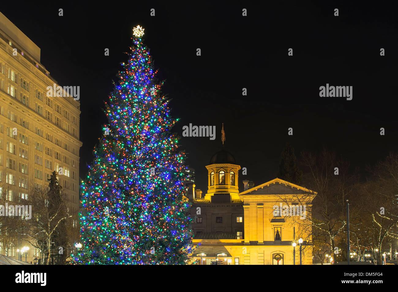 Christmas Lights Portland Oregon