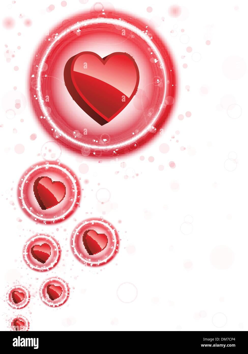Heart Shaped Wedding Bubbles