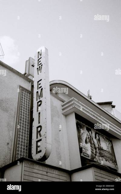 Art Deco Cinema Stock Photos & Art Deco Cinema Stock ...