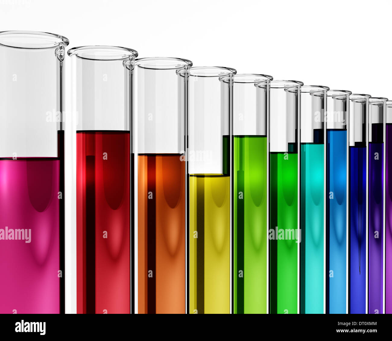 Chemical Test Tube For Chemistry Proof Mixture