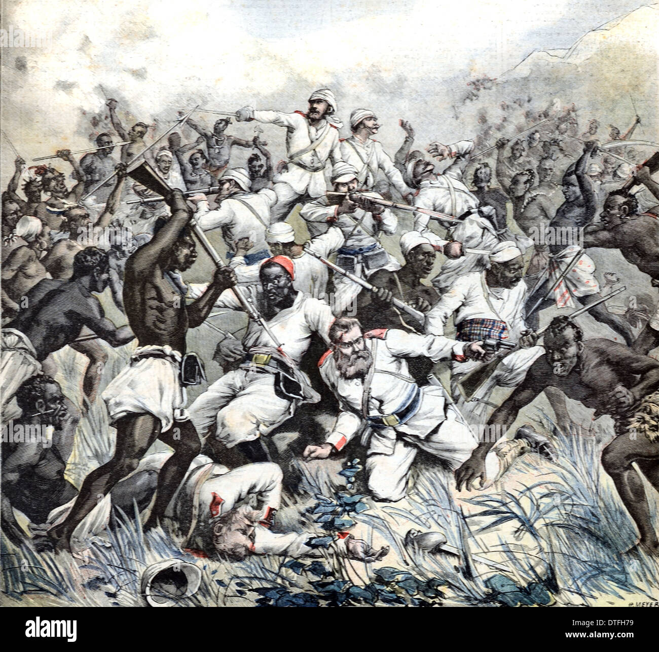 German Colonial Expedition Defeated In Africa By Herero Or