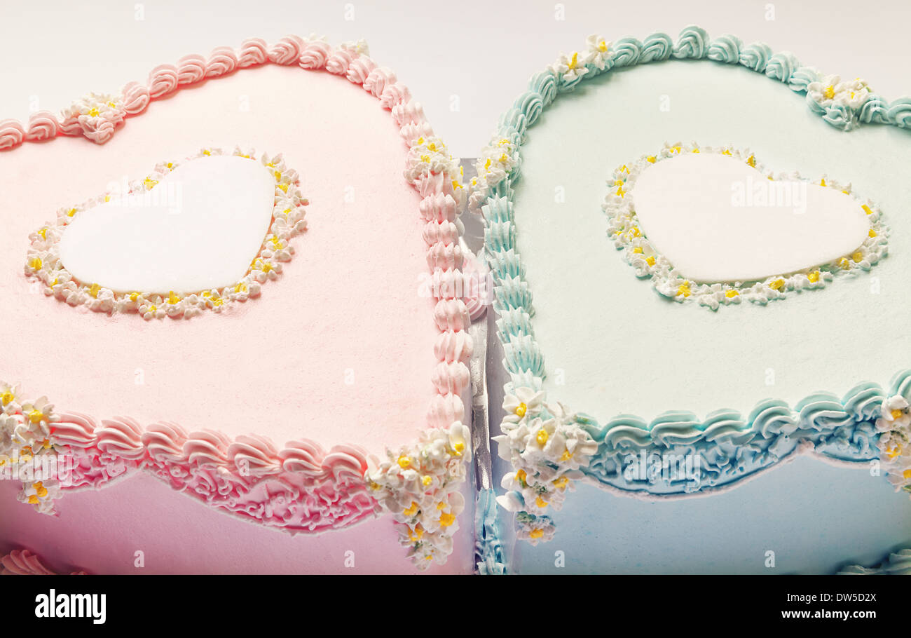 Birthday Cakes For Twins For A Boy And A Girl Shape Of