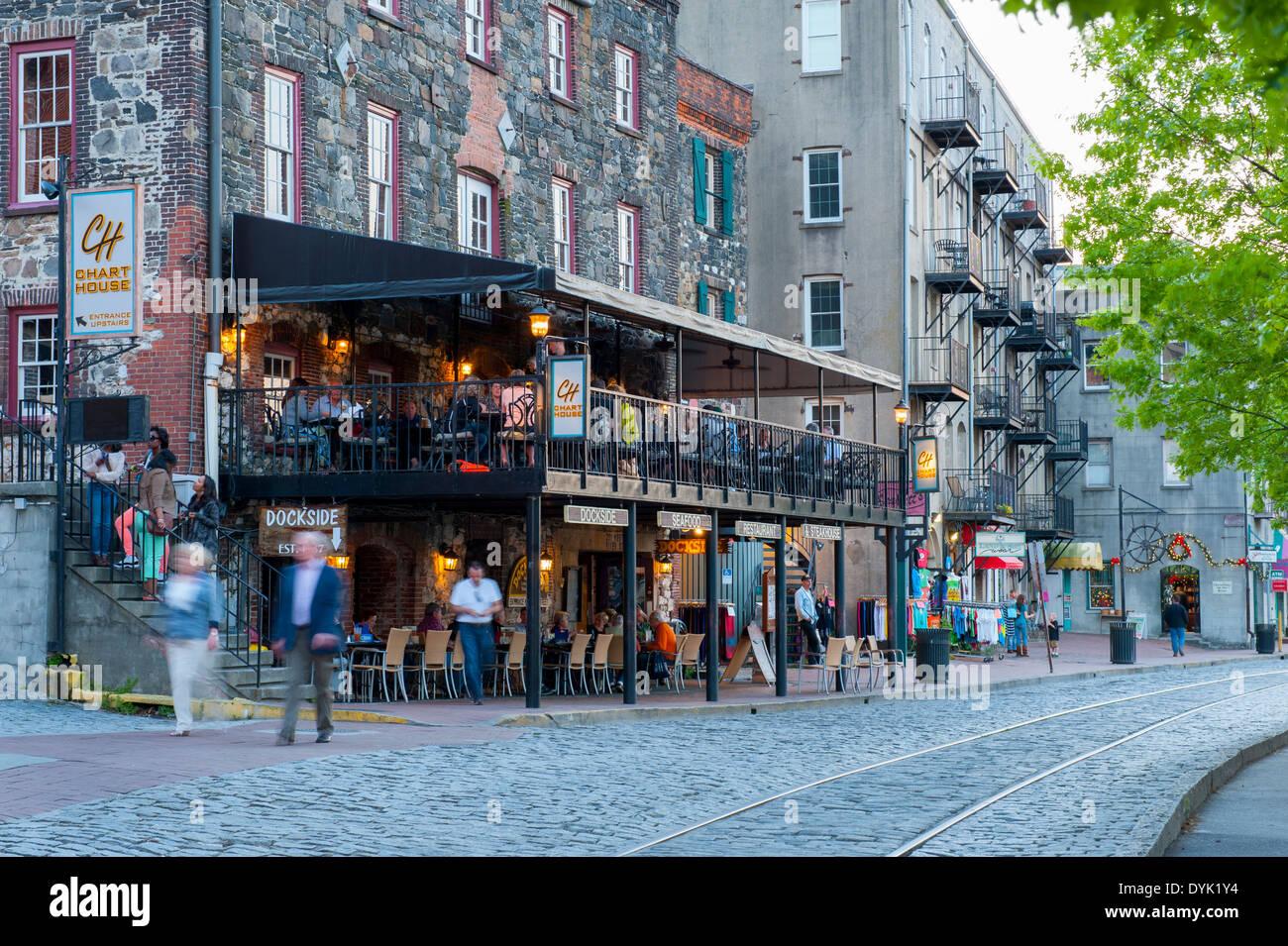 Downtown Restaurants Savannah Ga