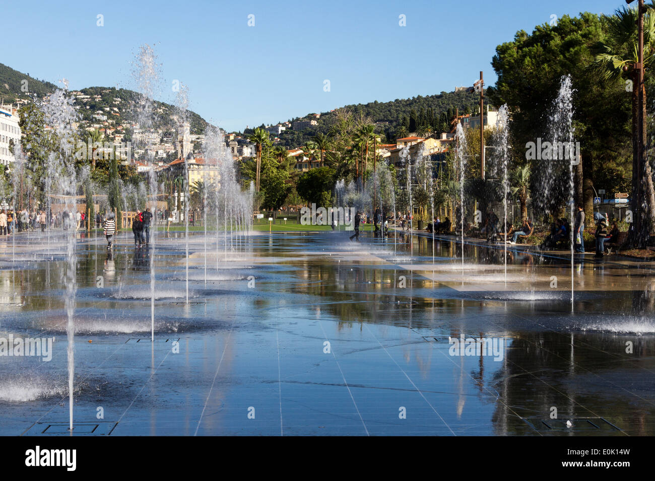 Miroir D Eau Nice High Resolution Stock Photography And Images Alamy