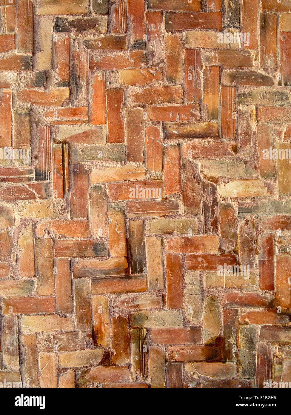 https www alamy com close up details of herringbone brick floor tiles image69710626 html