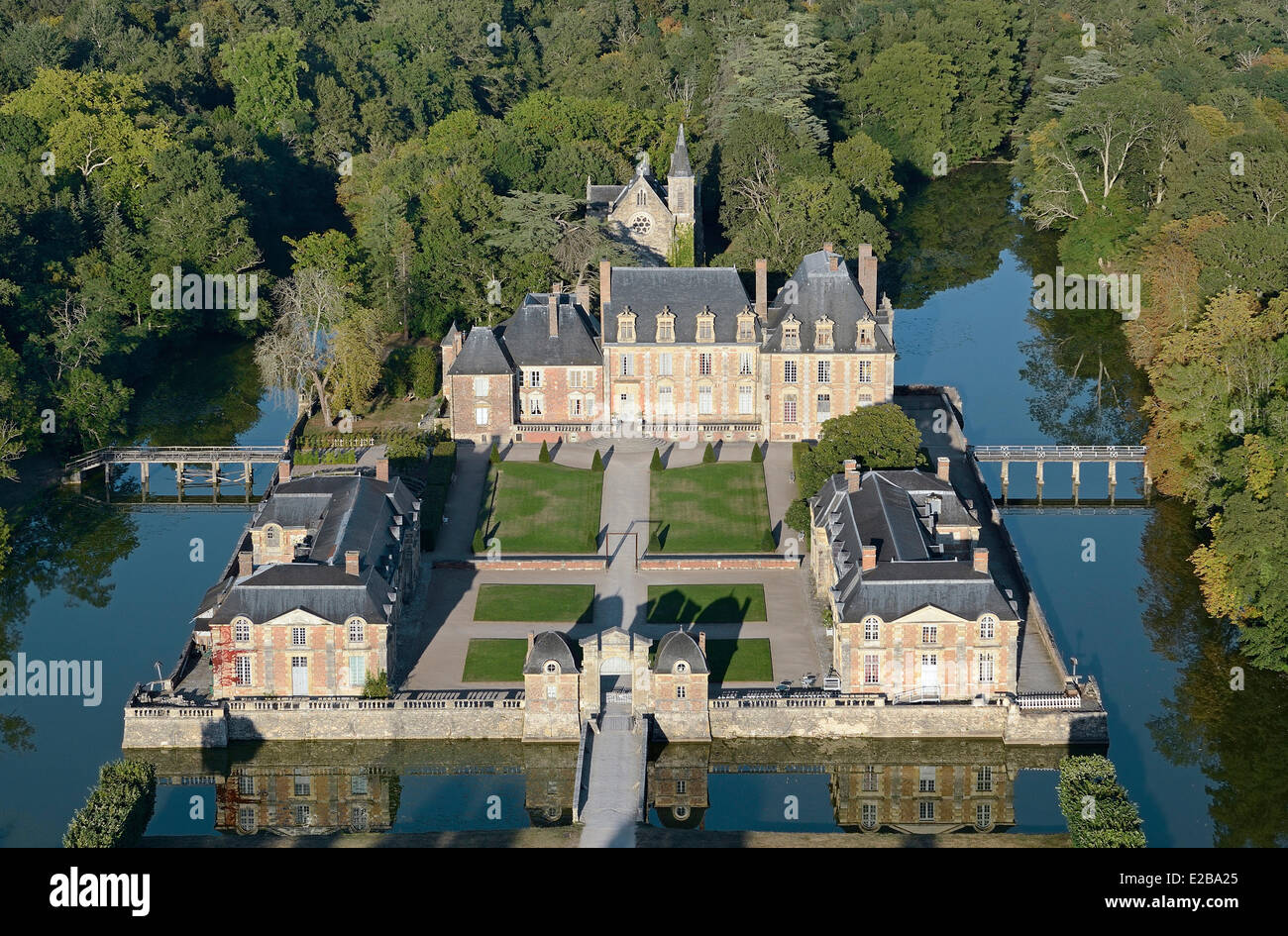 France Loiret Sologne Region Loire Castles La Ferte