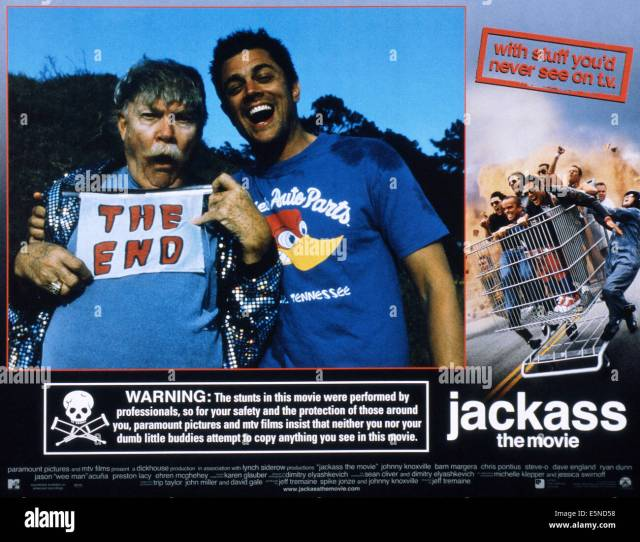 Jackass The Movie From Left Rip Taylor Johnny Knoxville 2002 Paramount Courtesy Everett Collection
