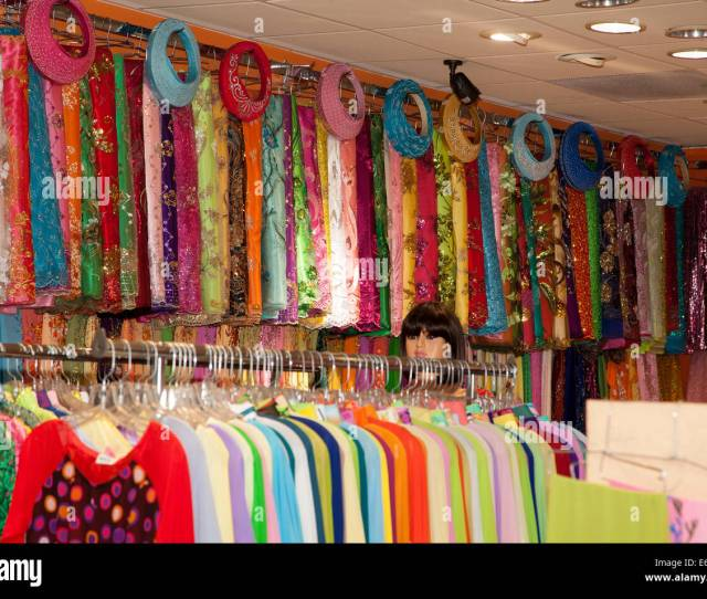 Vietnamese Clothing And Fabric Store Westminster Orange County California Usa