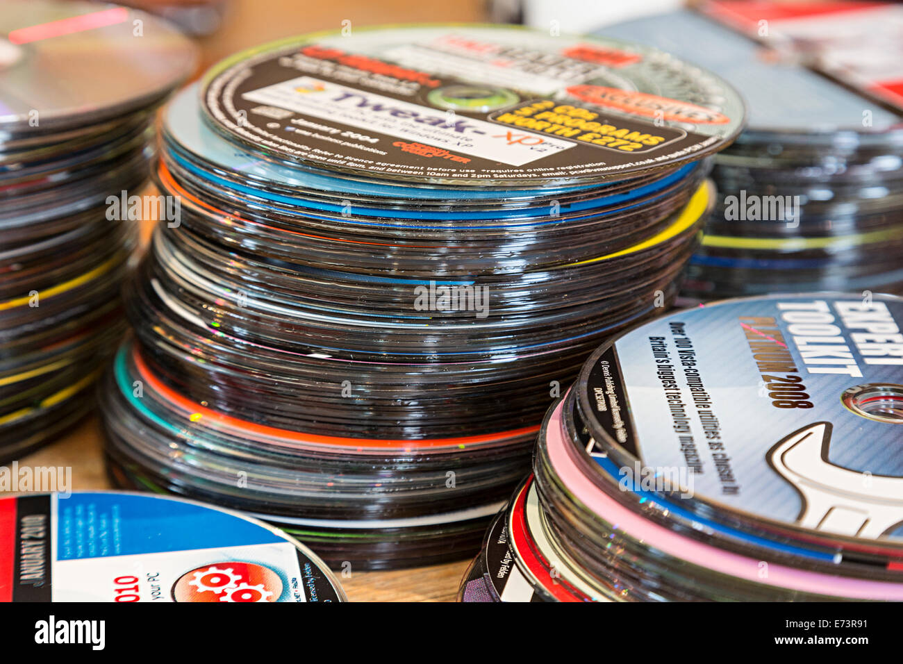 Heaps Of Old Cd Rom Software Disks Free With Computer