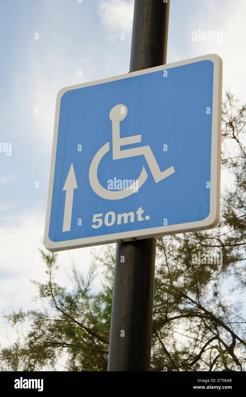 Handicap Placard Parking Meter