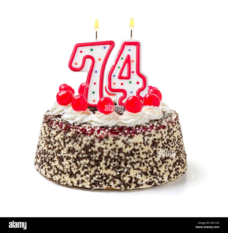 Happy 74th Birthday Cake