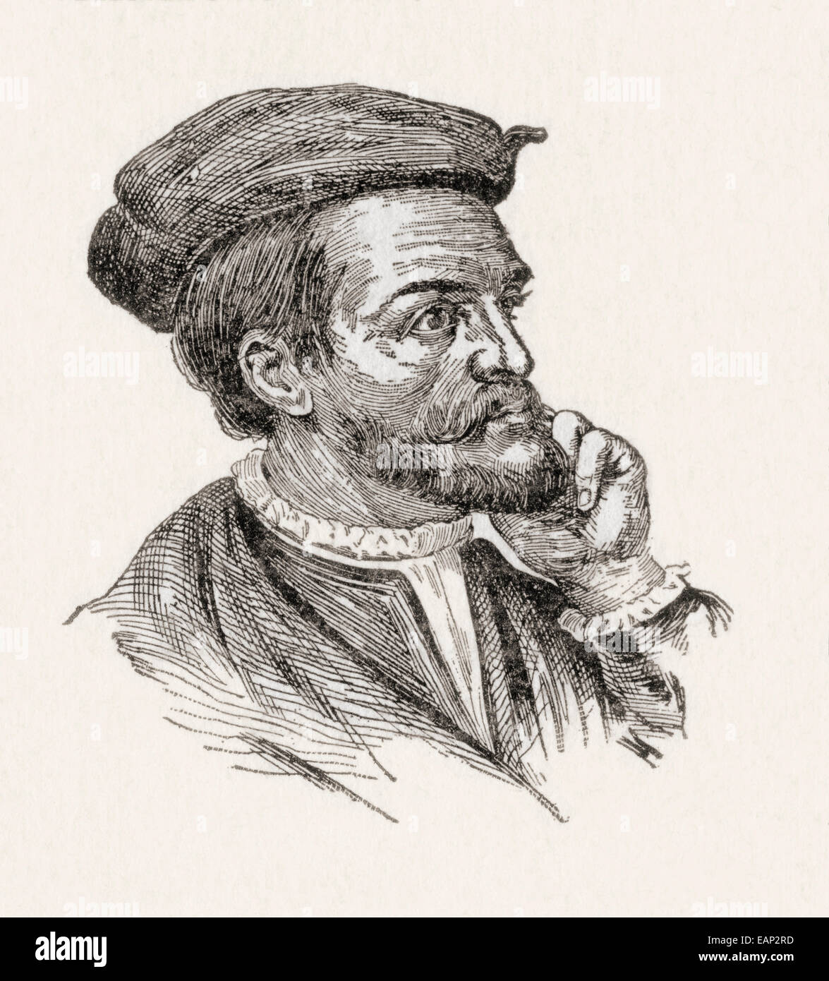 Jacques Cartier French Navigator And