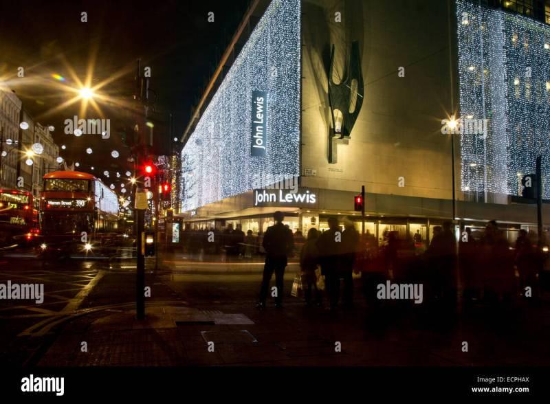 fileoxford street john lewis store christmas. John Lewis Christmas Lights Stock Photos Fileoxford Street John Lewis Store Christmas