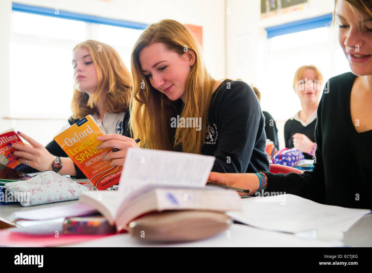 Secondary School Modern European Languages Education Wales