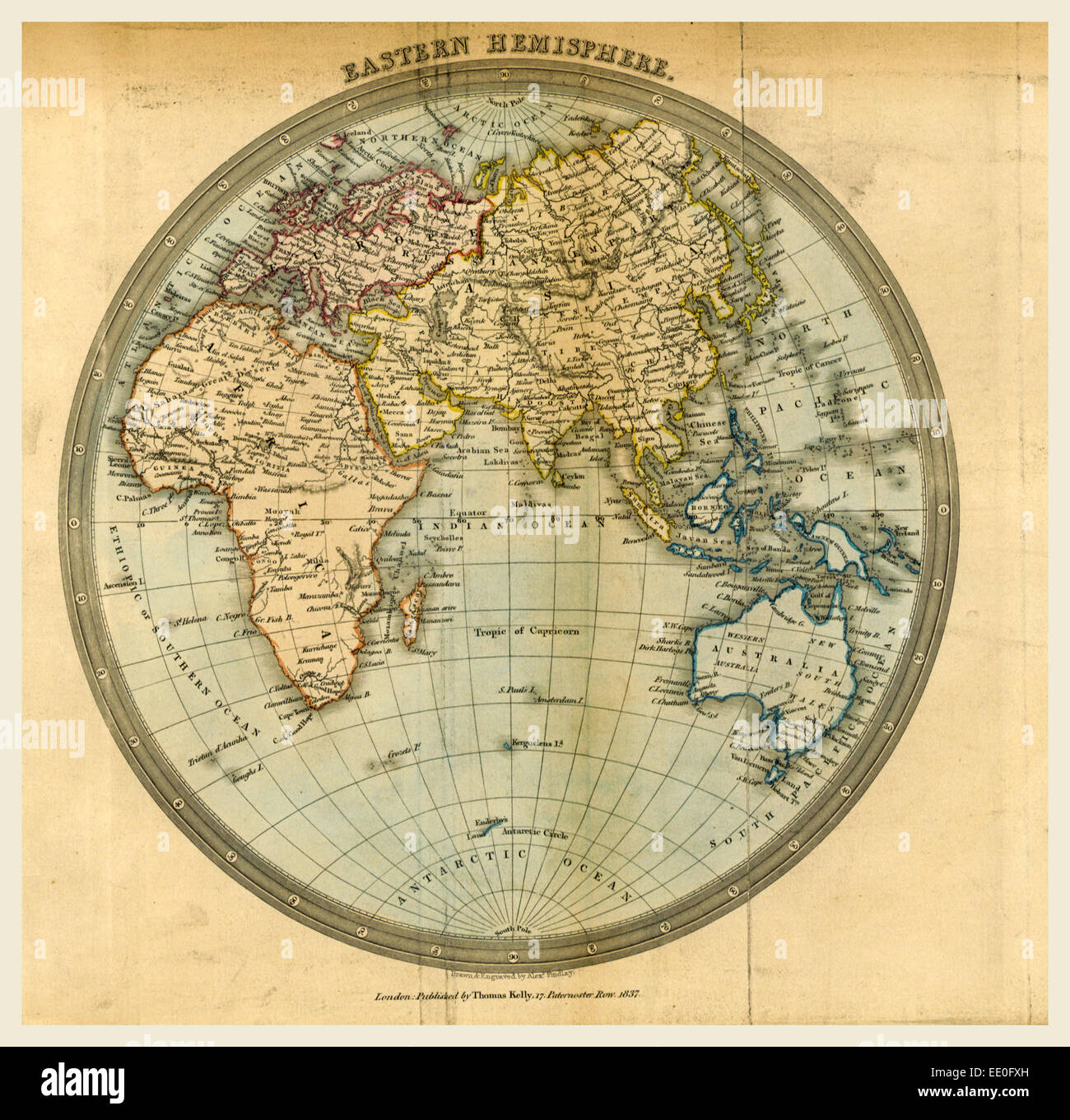 Eastern Hemisphere Map Stock Photos Amp Eastern Hemisphere