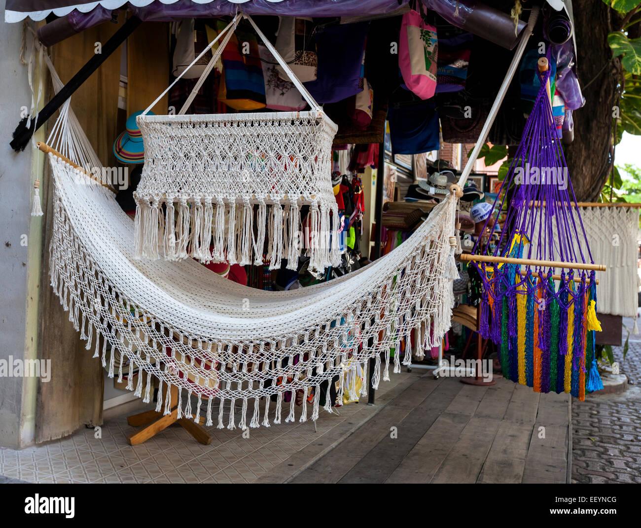 Hammock Baby Crib For Sale In A Souvenir Shop Playa Del