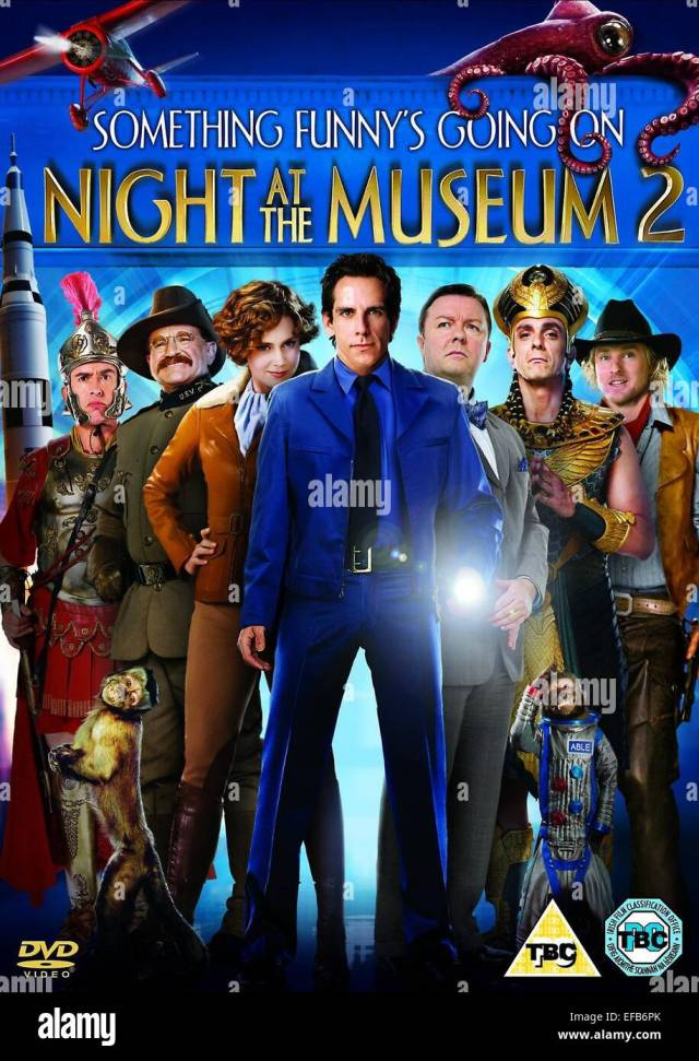 Movie Poster Night At The Museum Battle Of The Smithsonian Night At The Museum 2 2009