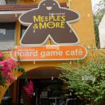 Board Game Cafe Sign In Bangkok Thailand Stock Photo Alamy