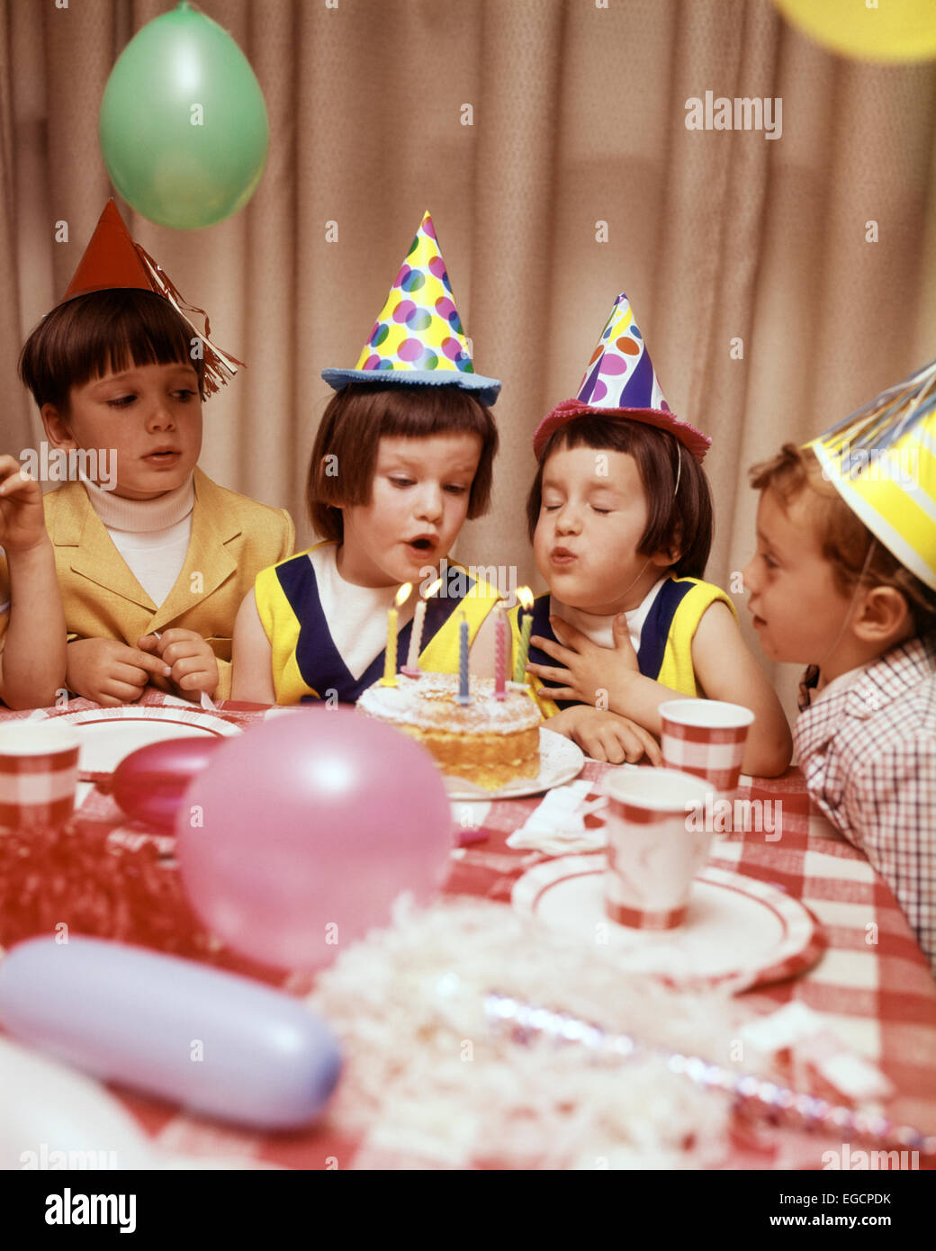 Birthday Cakes Twins Boy Girl Stock Photos Amp Birthday