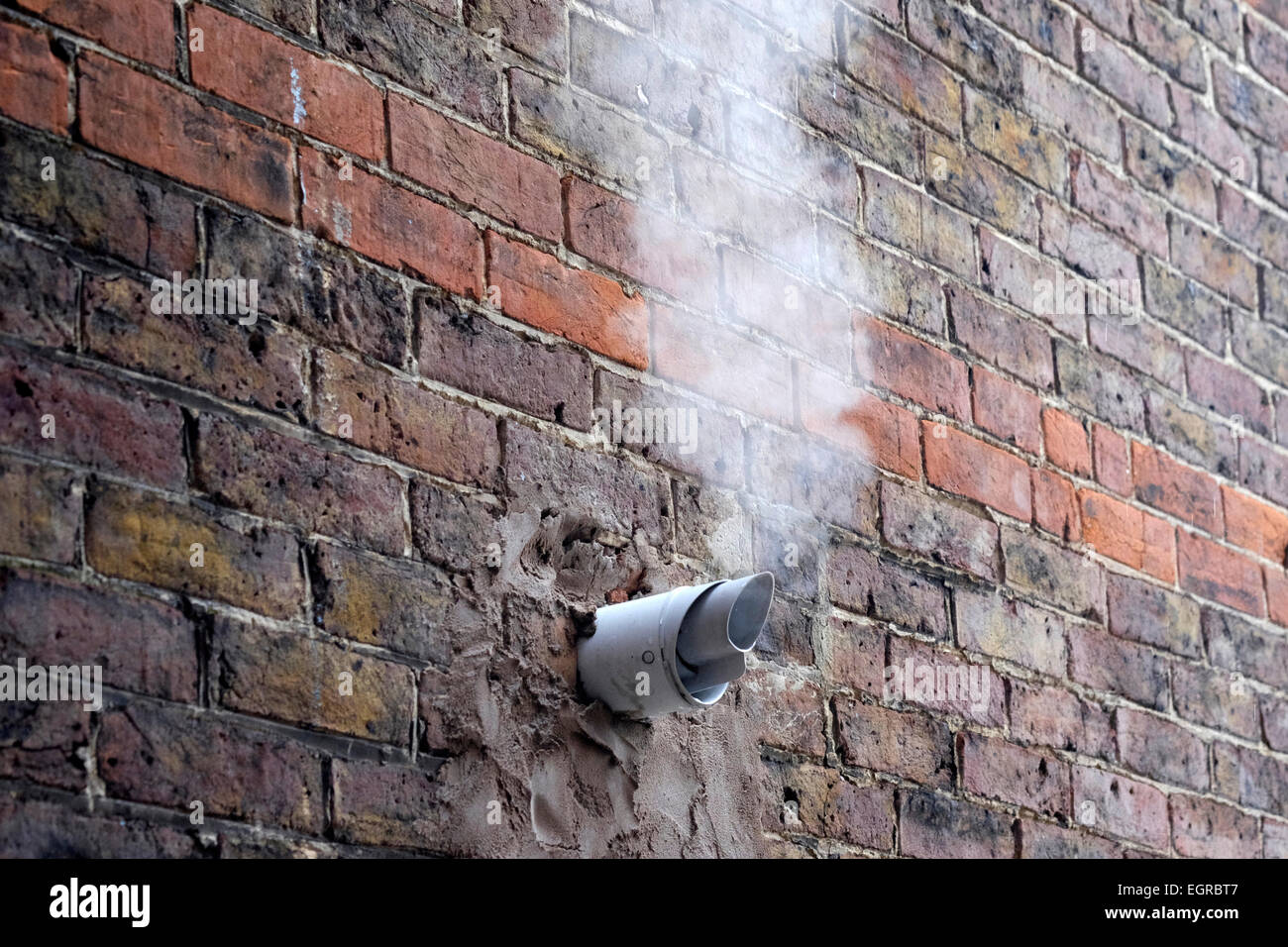 https www alamy com stock photo exhaust fumes from gas boiler emanating from pipe in house wall on 79190167 html