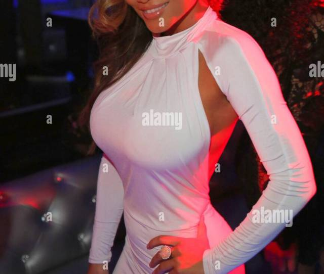 Daphne Joy Mother Of  Cents Child Hosts At Penthouse Nightclub In West Hollywood