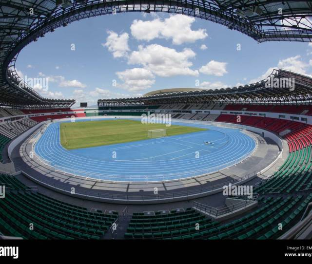 Metro Manila Philippines 23rd Apr 2015 Bulacan Philippines A General View Of The Philippine Sports Stadium On Thursday April 23 2015