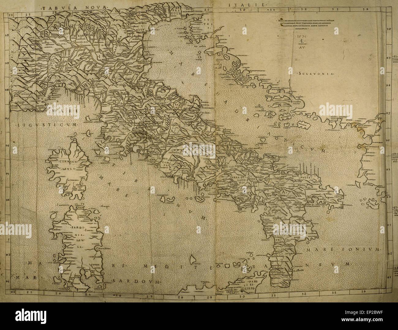 Italian Peninsula Worksheet