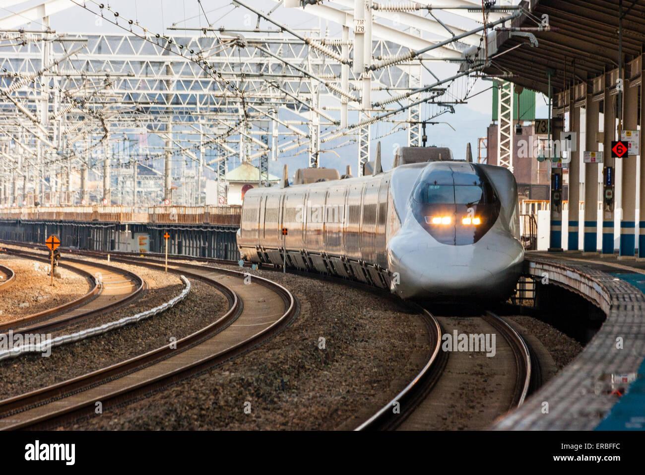 Japan Fukuyama Japanese Railway Shinkansen Bullet Train