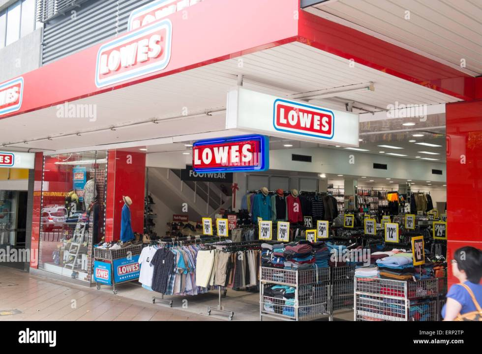 Lowes discount clothing store shop in Chatswood a suburb ...