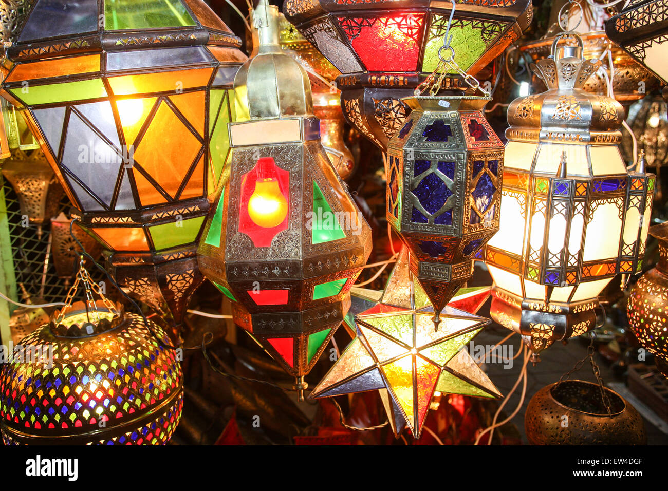 Colourful Moroccan Lights For Home Decor Lighting For Sale