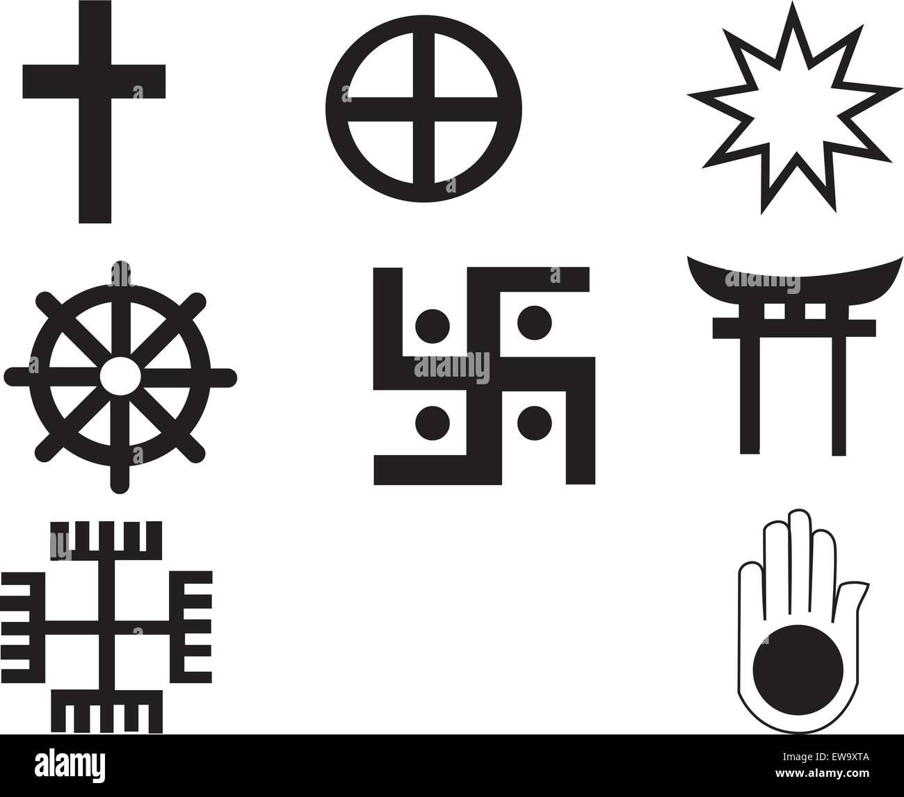 Christian Coexist Bumper Sticker
