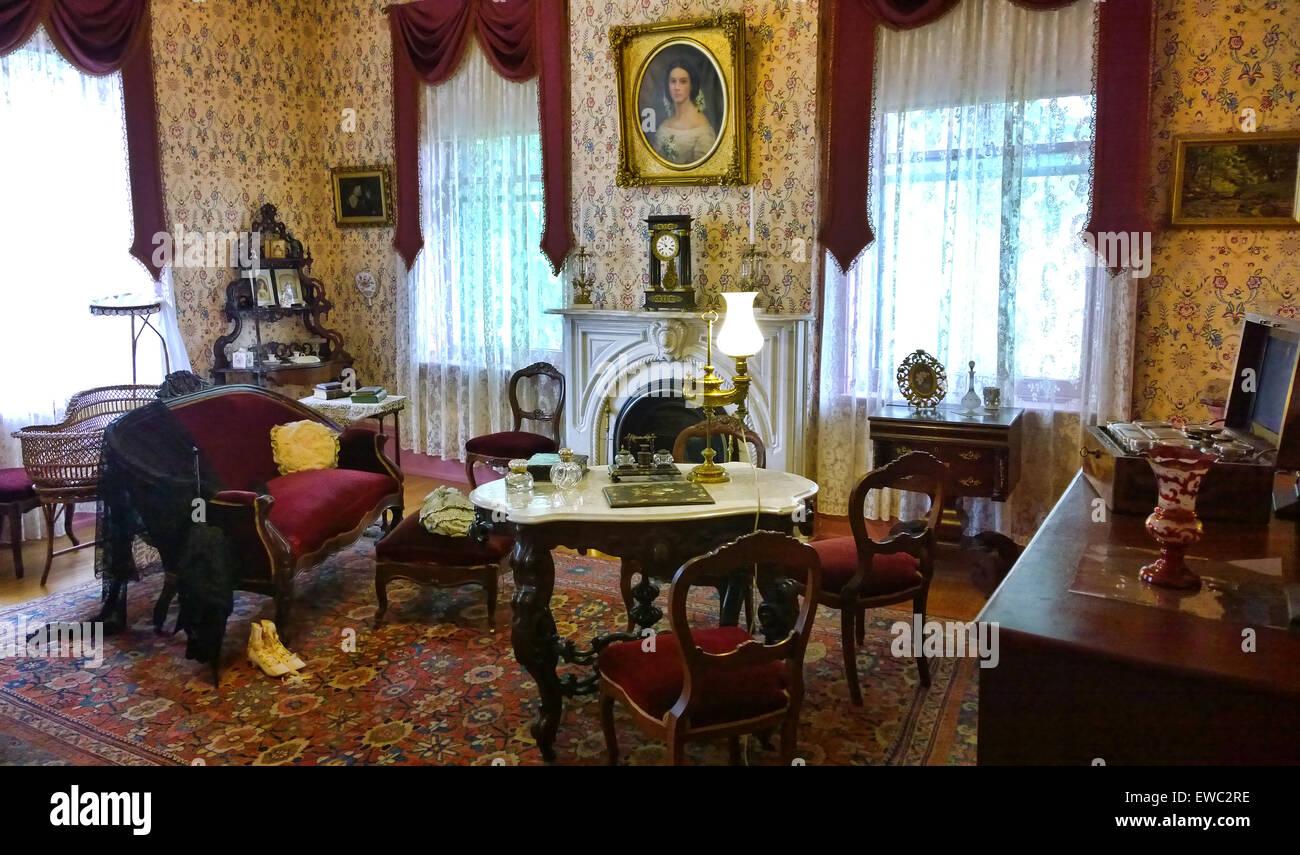 Victorian Era Sitting Room Stock Photo 84473522 Alamy