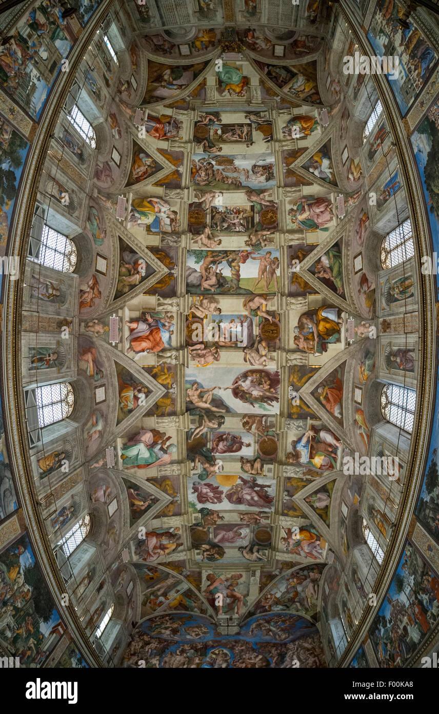 Is The Sistine Chapel Ceiling Curved Www Lightneasy Net