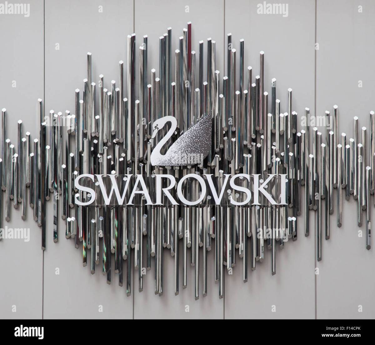 Swarovski brand on storefront in New York City Stock Photo - Alamy