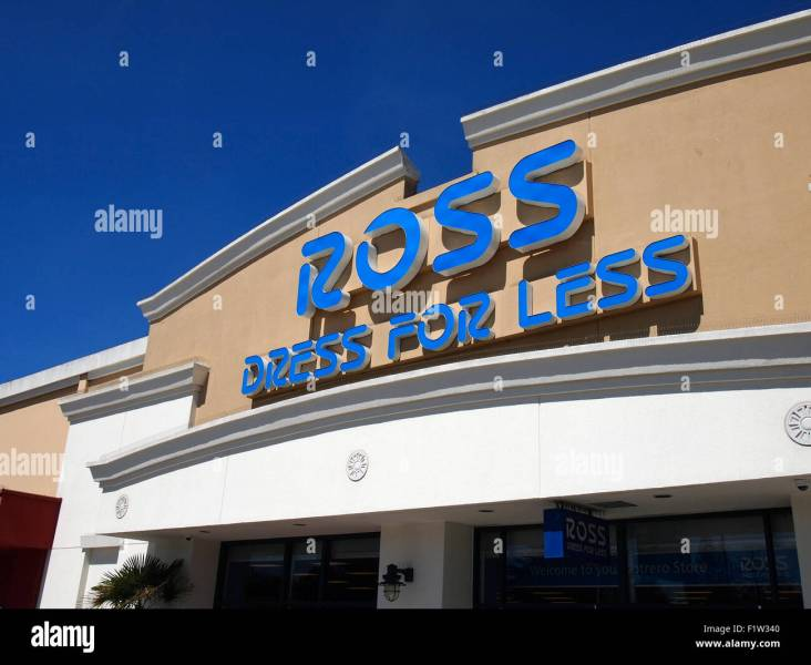 Ross Dress for Less  store  San Francisco  California Stock Photo     Ross Dress for Less  store  San Francisco  California