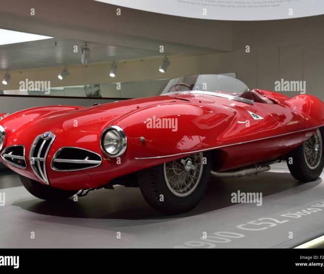 Alfa Romeo Touring Superleggera  C Disco Volante At The Alfa Romeo Museum In Arese