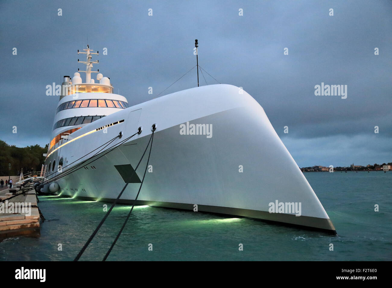 Andrey Melnichenko Superyacht A SF99 IMO 1009340 Stock