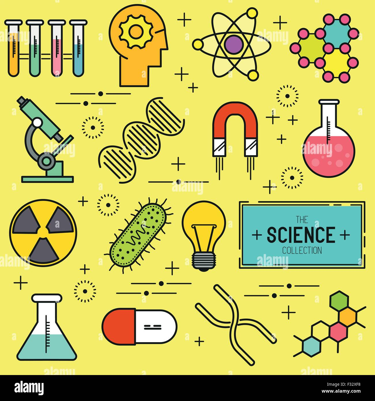 Science Vector Icon Set A Collection Of Science Themed