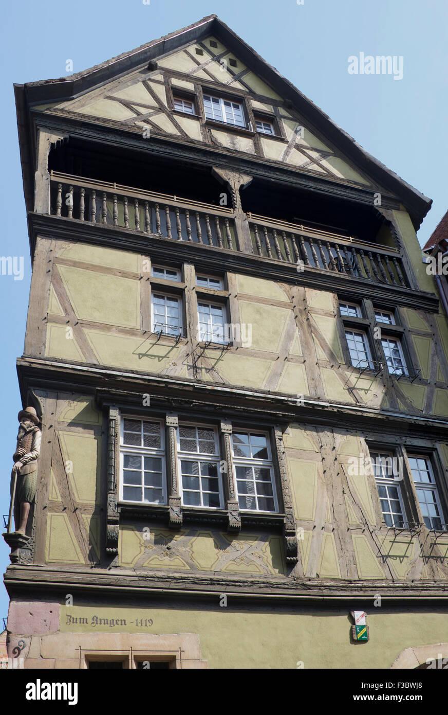 16th Century French Home - 16th-century-kragen-zum-house-colmar-alsace-france-F3BWJ8_Best 16th Century French Home - 16th-century-kragen-zum-house-colmar-alsace-france-F3BWJ8  Best Photo Reference_188230.jpg