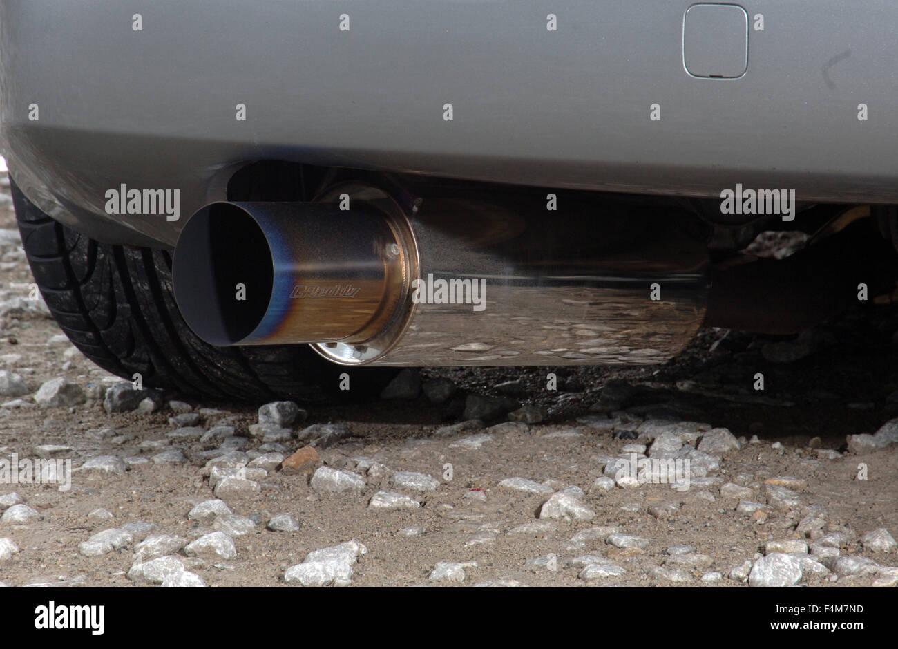 https www alamy com stock photo sports car driving on empty twisting mountain roads nissan 350z tuned 88955593 html