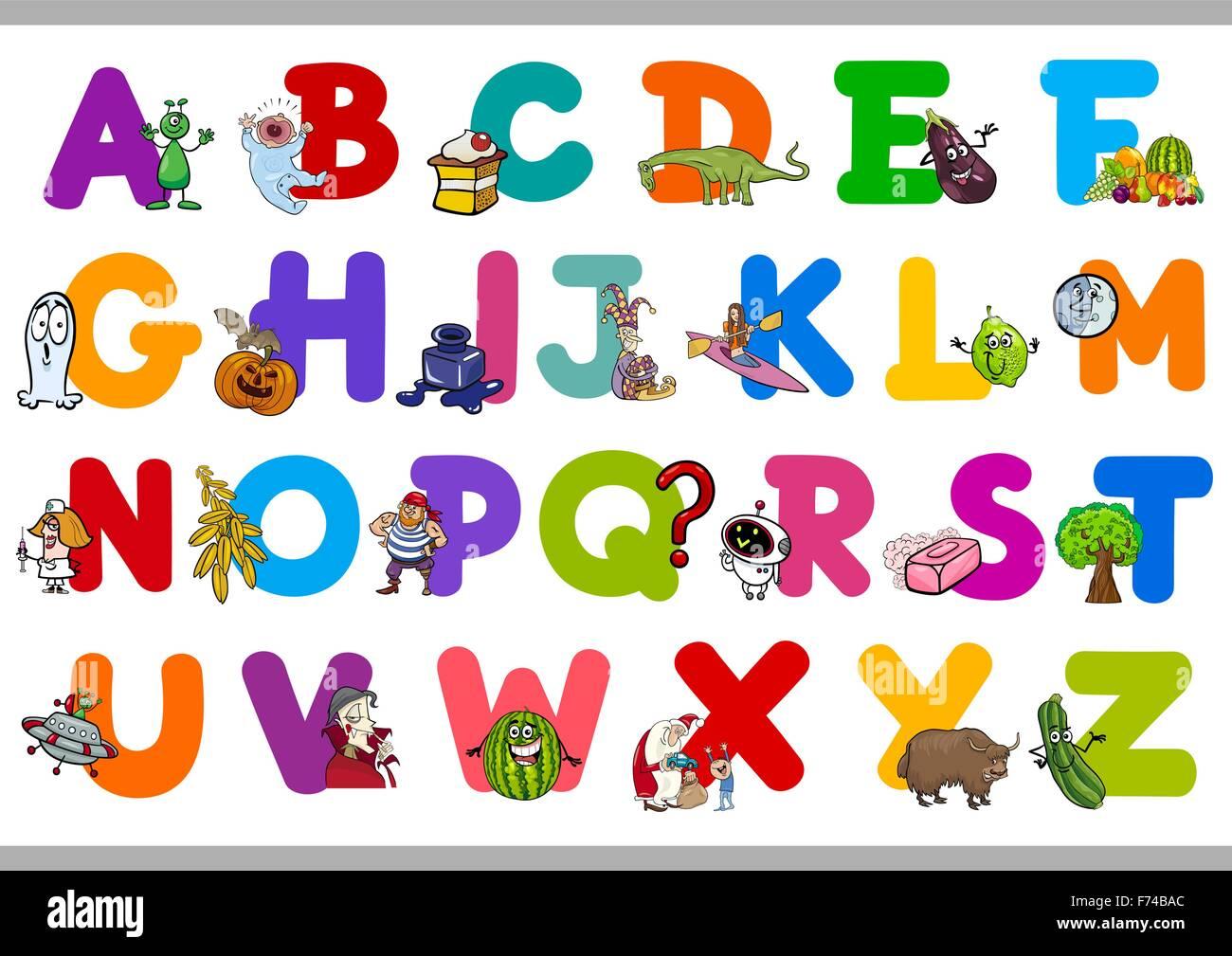 Alphabet Letters For Kindergarten