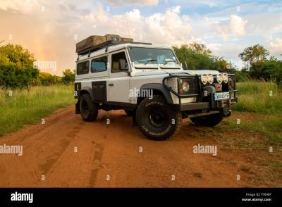 1994 Land Rover Defender 110 in South Africa Stock Photo ...