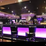 Modern Design Club Restaurant Bar Indoors Stock Photo Alamy