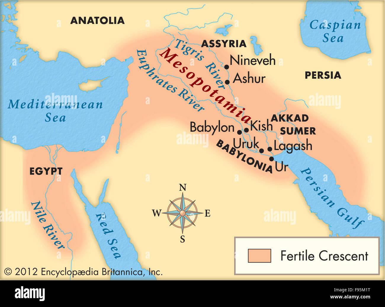Mesopotamia Stock Photo