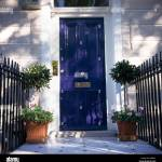 Blue Front Doors High Resolution Stock Photography And Images Alamy