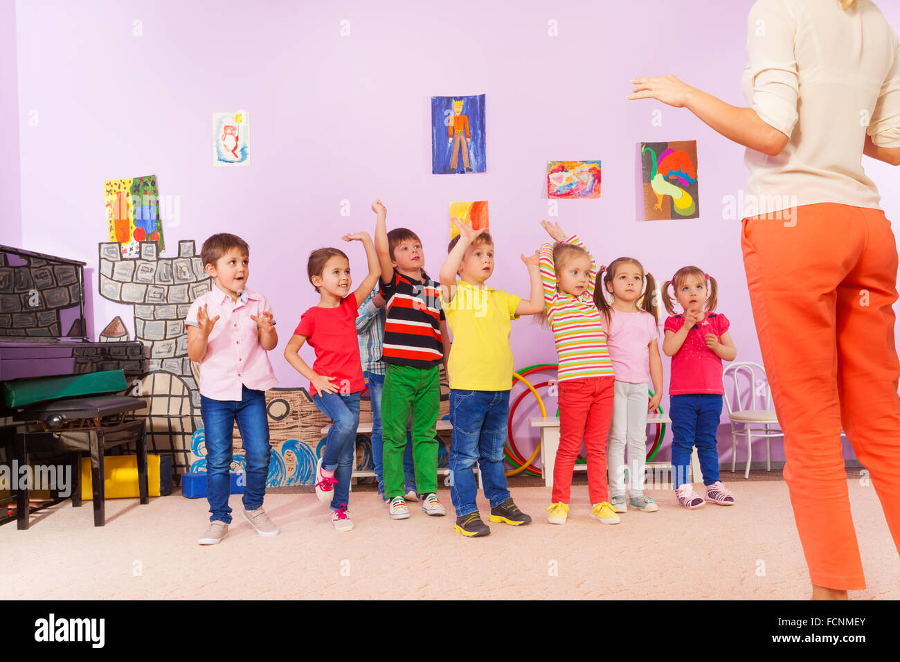 Exercises Kindergarten Stock Photos Amp Exercises
