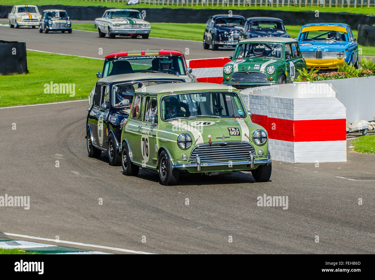 1963 Austin Mini Cooper S is owned by Nick Swift and was raced by     1963 Austin Mini Cooper S is owned by Nick Swift and was raced by him and  Karun Chandhok at the 2015 Goodwood Revival  Space for copy