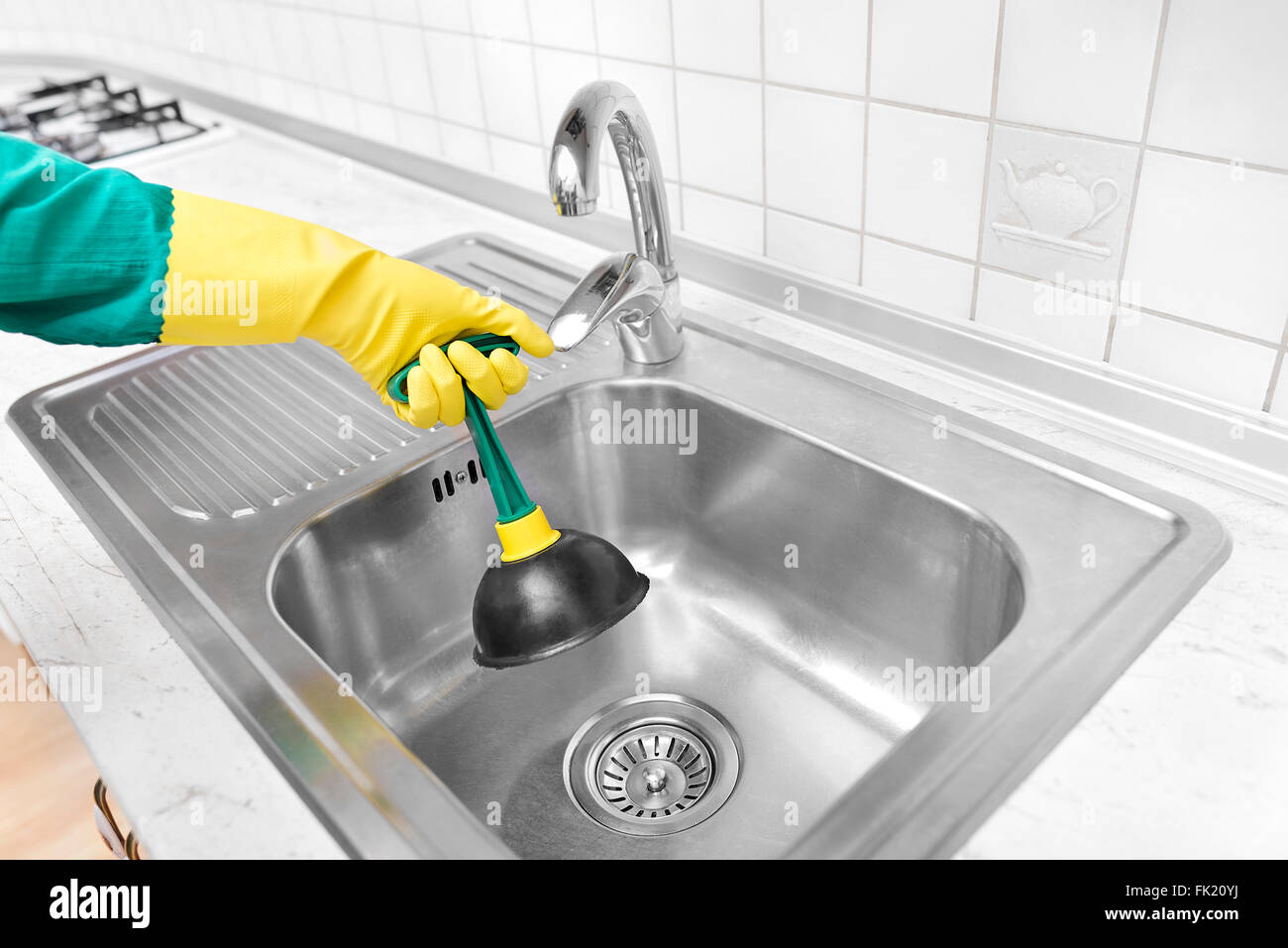 https www alamy com stock photo cleaning the old sinks 97774982 html