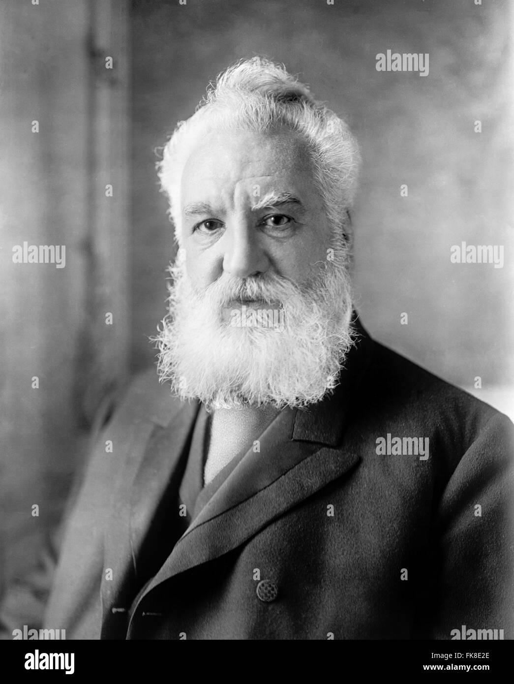 Alexander Graham Bell Stock Photo