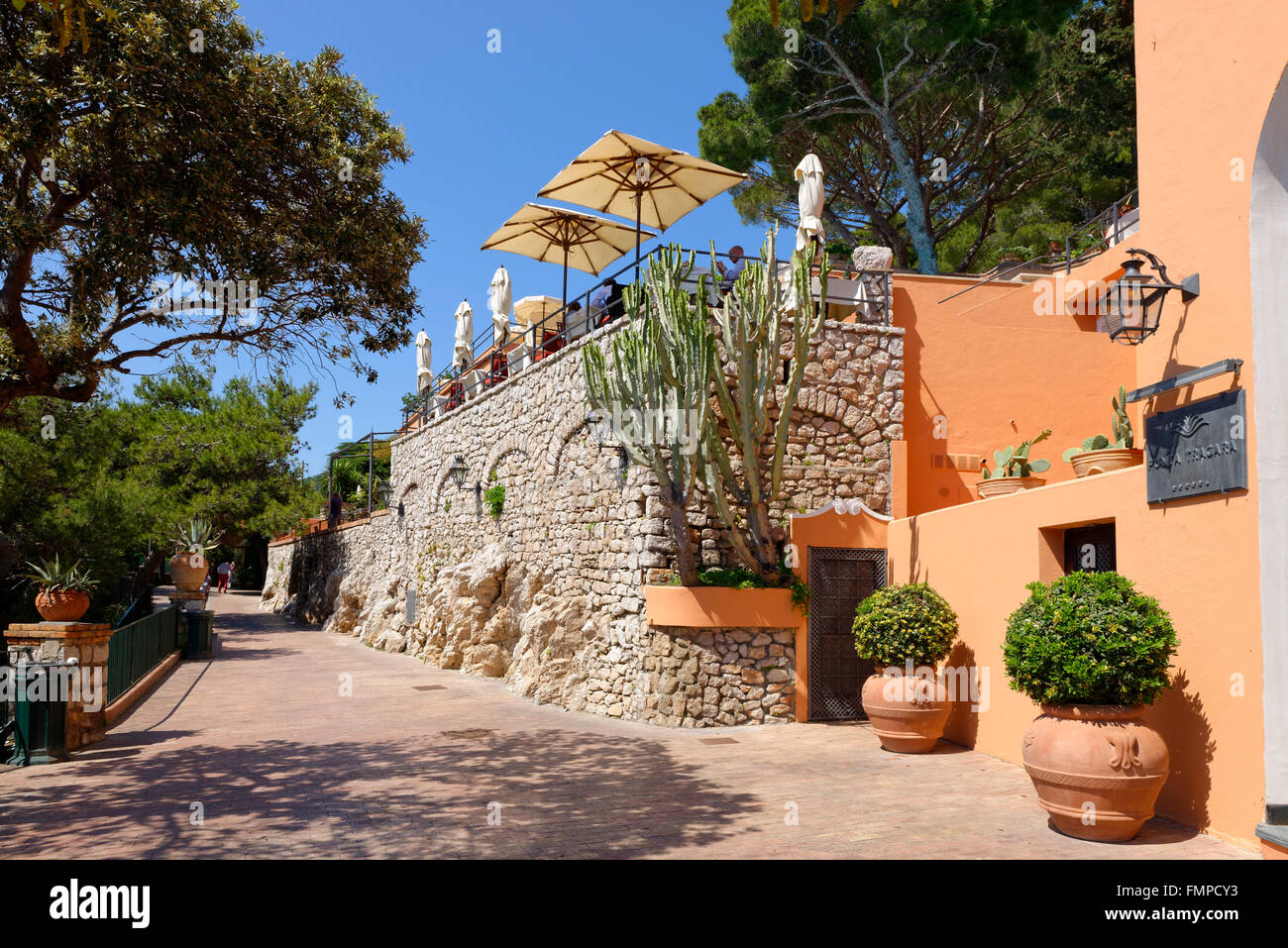 hotel punta tragara architect le corbusier island of capri capri gulf of naples campania italy